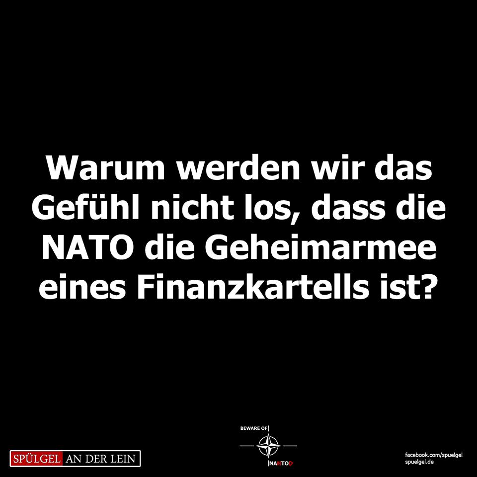 NATO ist die Geheimarmee eines Finanzkartells?